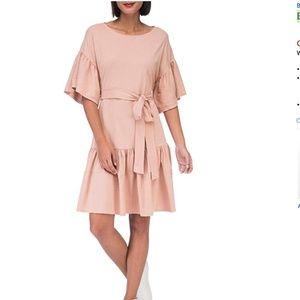 🎃 NWT Bobeau Angel Washed Cotton Dress size small